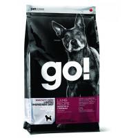 GO! Корм беззерновой для щенков и собак, с ягненком для чувствительного пищеварения. Sensitivity + Shine LID Lamb Dog Recipe, Grain Free, Potato Free. 9,98 кг., zt37553, GO!